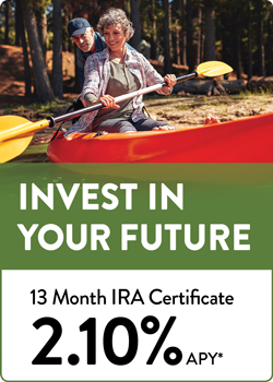 13 Month IRA Cert 2.10 Side Banner