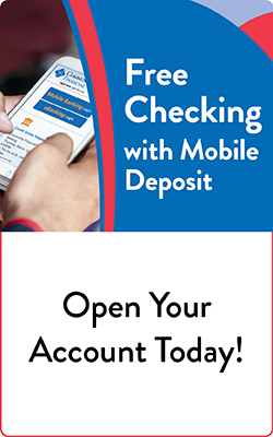 Free Checking with Mobile Banking at Community Financial