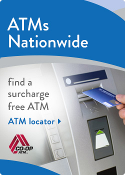 Surcharge Free CO-OP ATMs