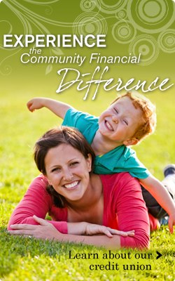 Experience the Community Financial Difference