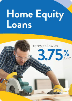Home equity loc community financial credit union for Home equity loan rates