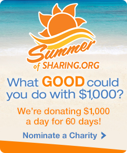 Nominate a charity!