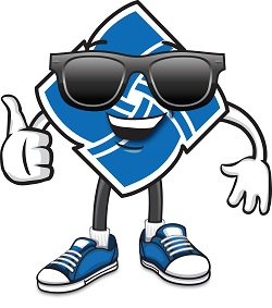 Community Financial mascot
