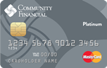 Get a low rate card with our Platinum MasterCard