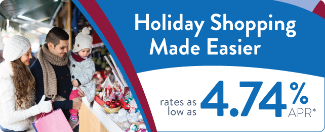Great rates on holiday loans!