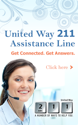 Help is just a call away - 211